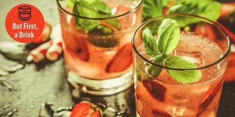 Make Strawberry Bourbon Lemonade for Your Labor Day Weekend Party
