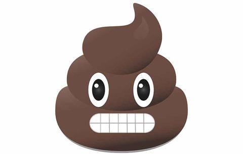 bloody poop