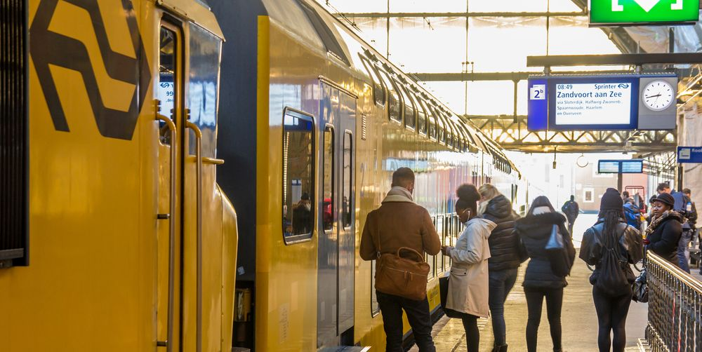 staan-in-de-trein