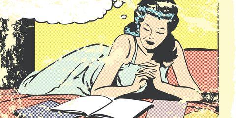 Cartoon, Illustration, Fiction, Art, Sitting, Clip art, Fictional character,