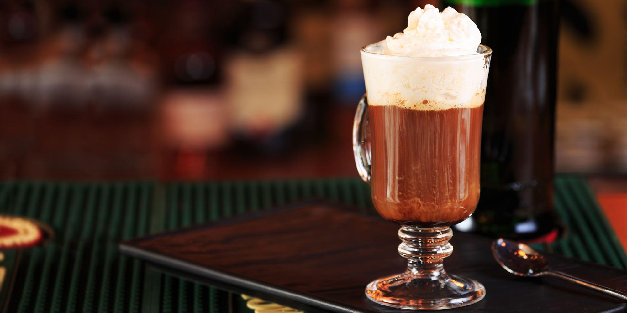 irish coffee drink recipe how to make the perfect irish coffee