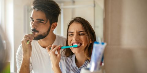 Tooth brushing, Tooth, Organ, Toothbrush, Mouth, Fun, Human body, Smile, Child, Personal care,