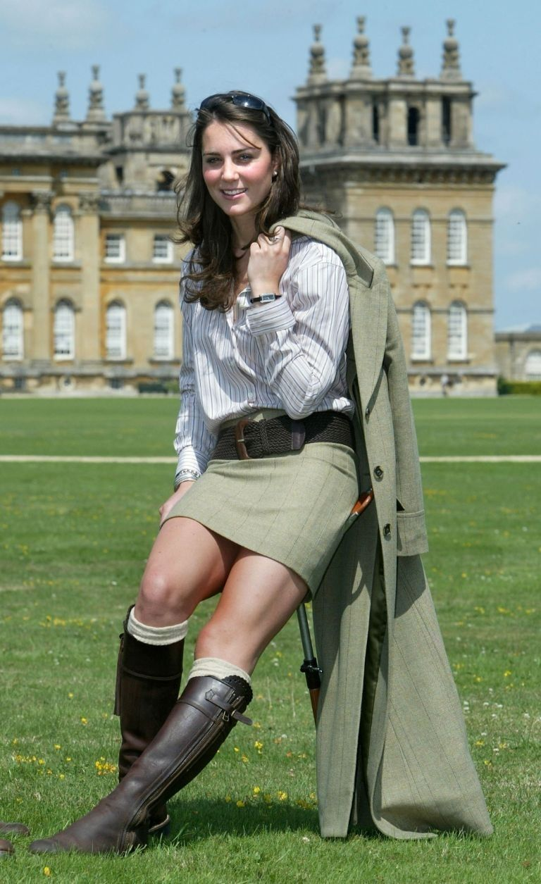 Kate Middleton Recycles Her Favorite Boots , Kate Middleton