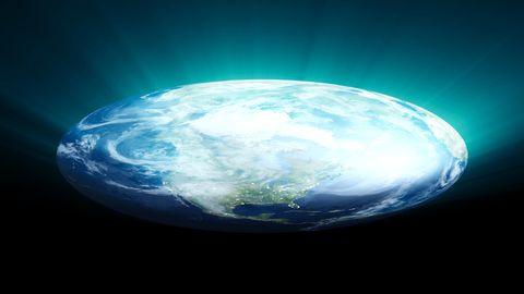 Hoe Ziet Het Leven Eruit Op Een Platte Aarde