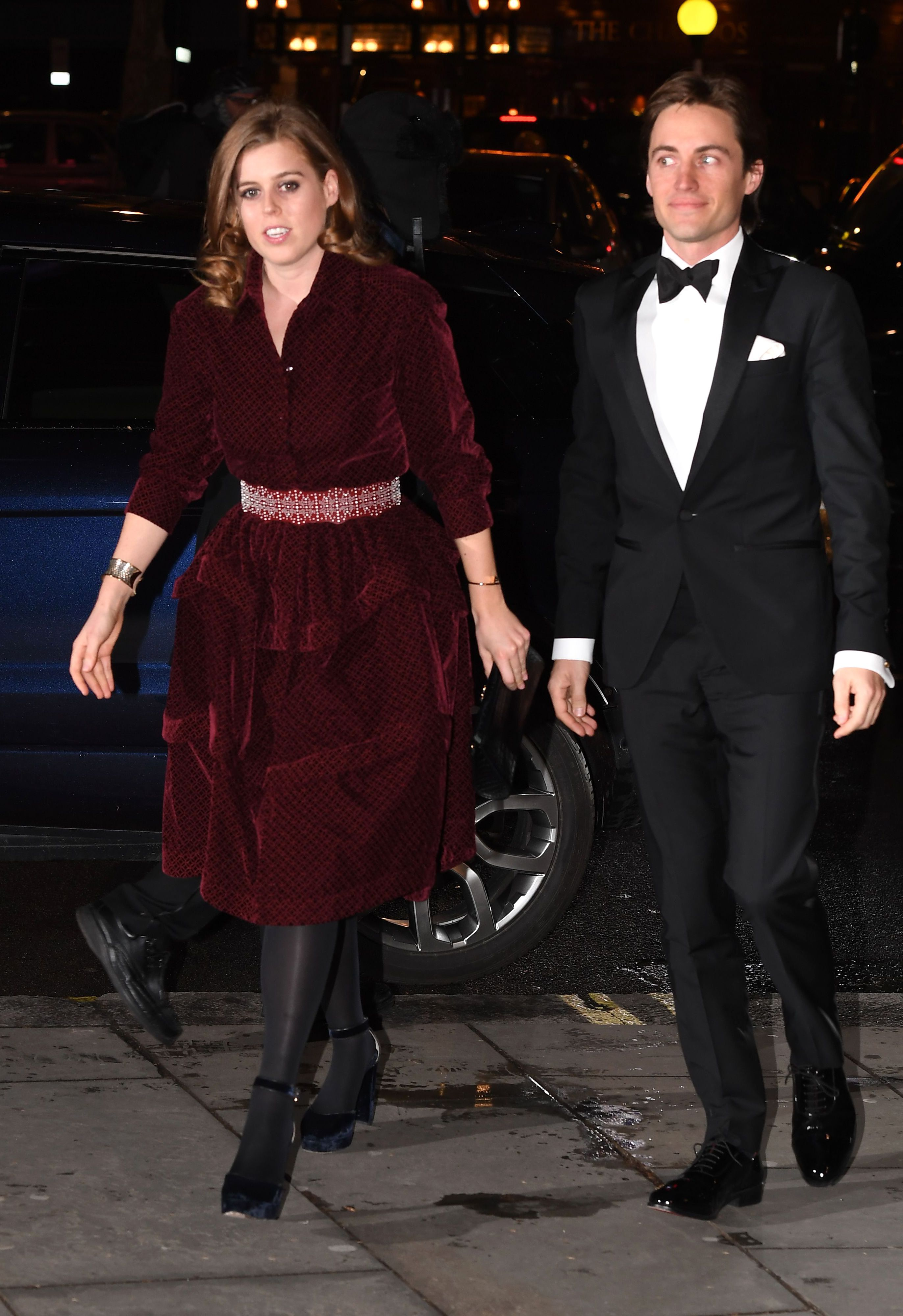 Princess Beatrice and Edoardo Mapelli Mozzi Just Made Their First Official Appearance as a Couple