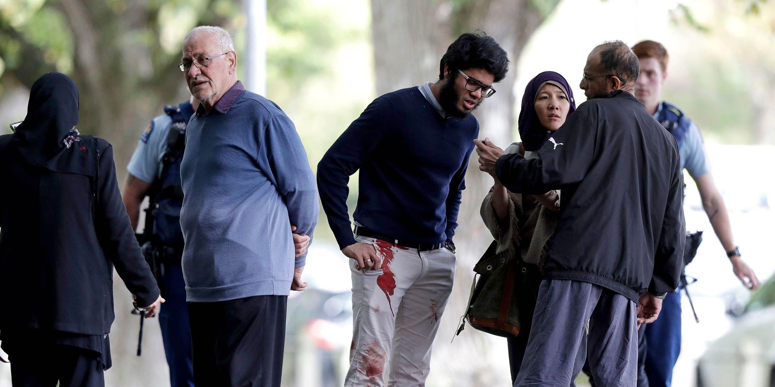 Mosque Shooting, Christchurch, New Zealand - 15 Mar 2019