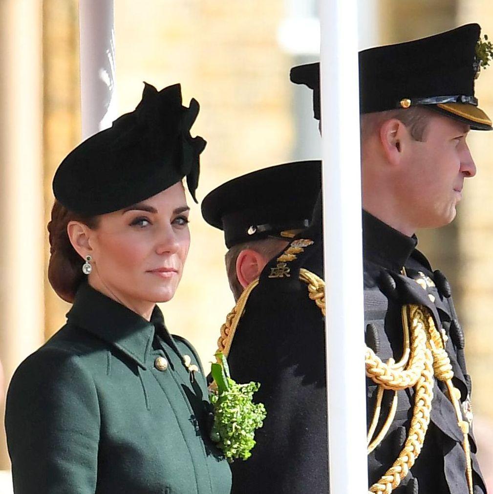 Kate Middleton Celebrates St. Patrick's Day in a Custom Alexander McQueen Coat