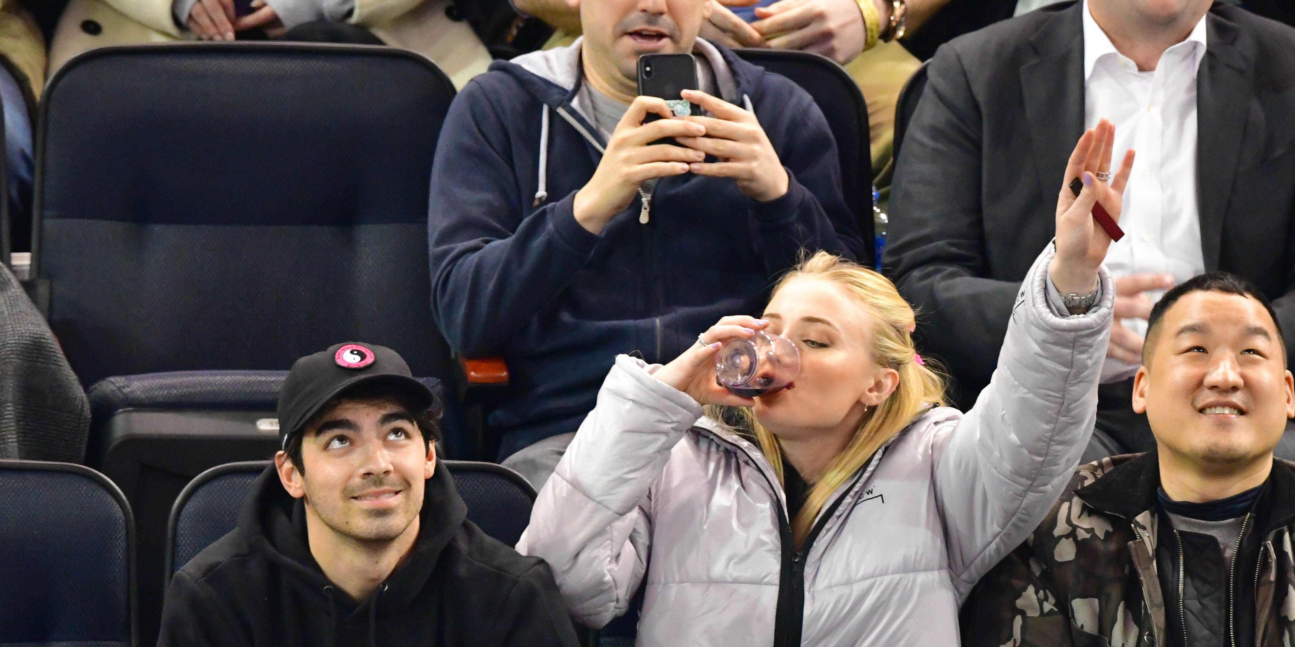 Detroit Red Wings v New York Rangers ice hockey game, New York, USA - 19 Mar 2019