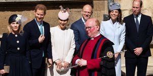 Easter Sunday service, St George's Chapel, Windsor, UK - 21 Apr 2019