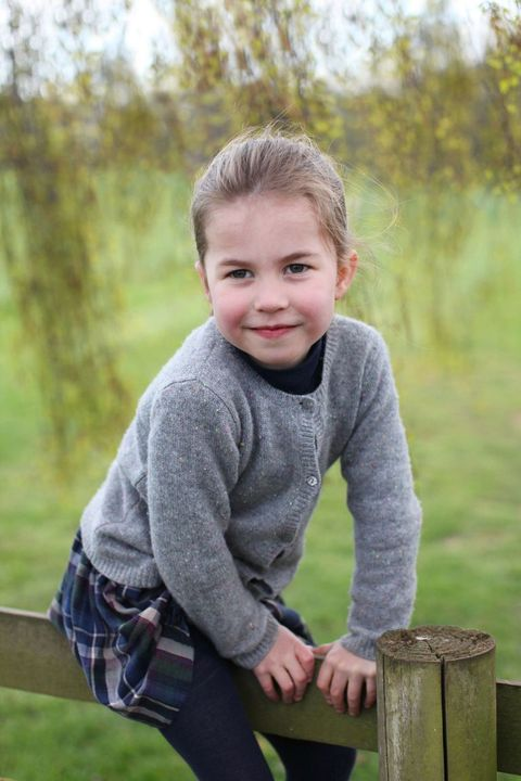 Kate Middleton Shared the Cutest New Photos of Princess Charlotte for Her 4th Birthday
