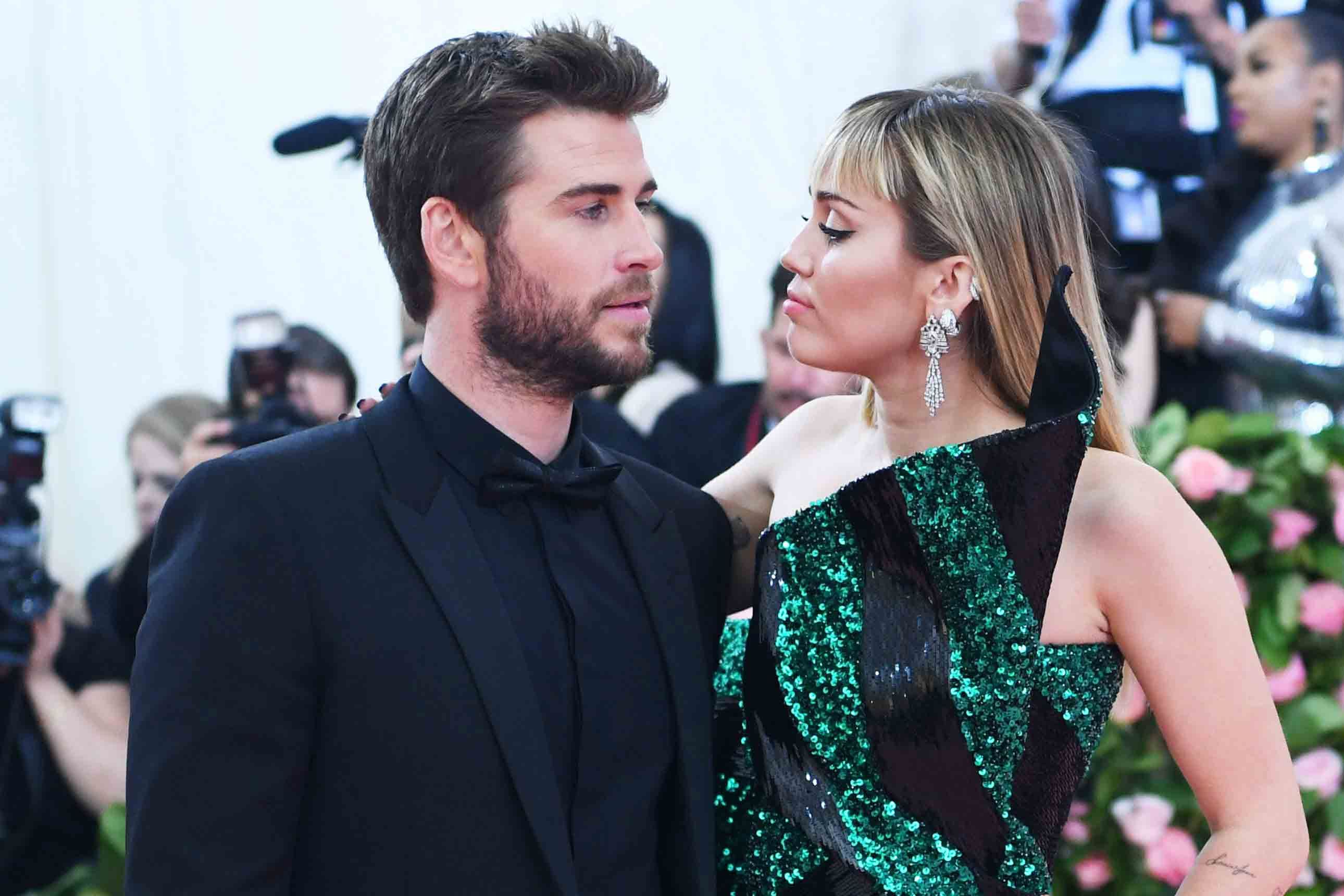 Miley Cyrus and Liam Hemsworth Officially File for Divorce