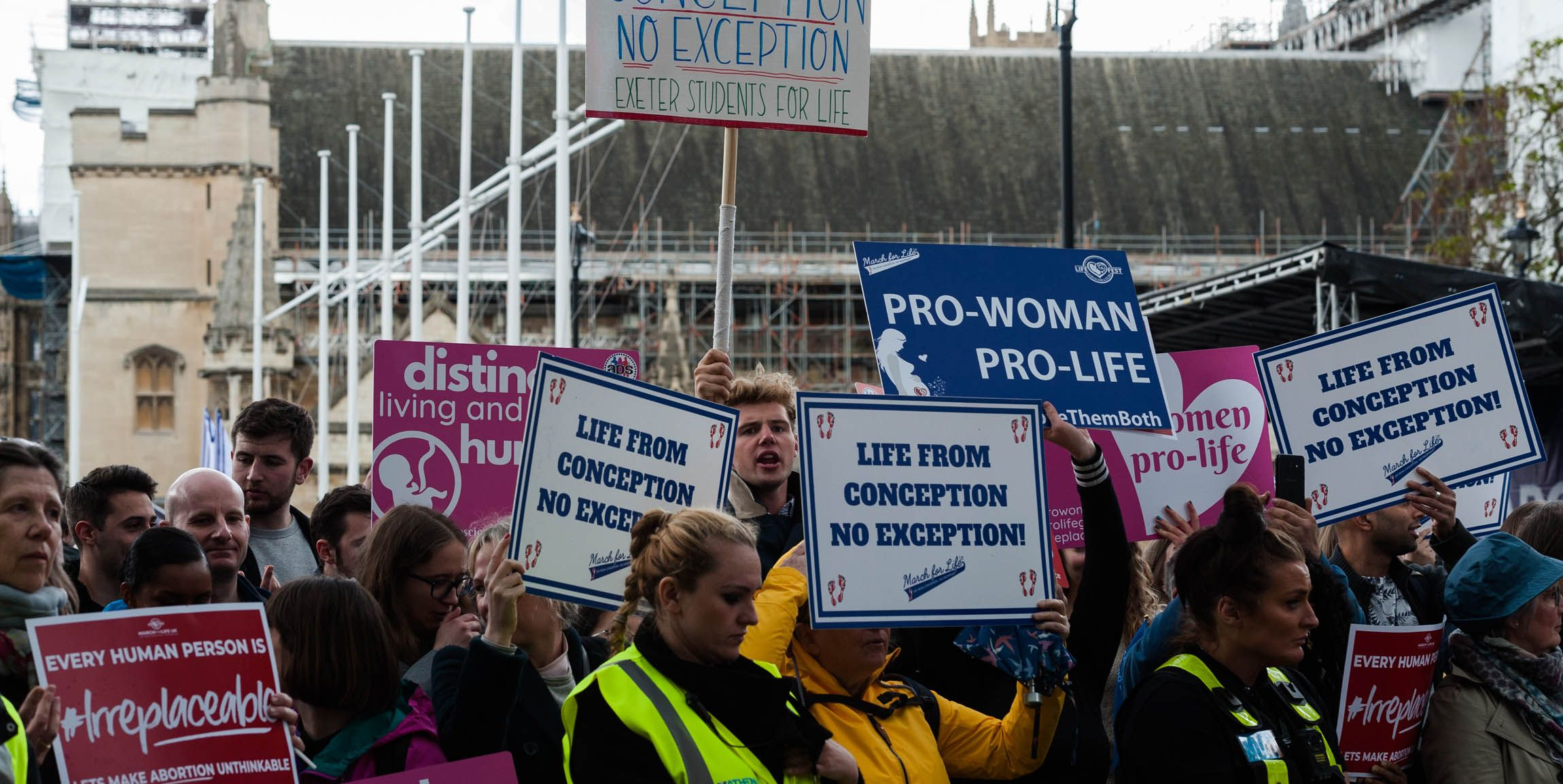 March For Life, London, UK - 11 May 2019
