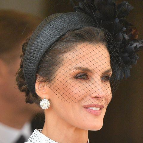 Queen Letizia at Order of the Garter