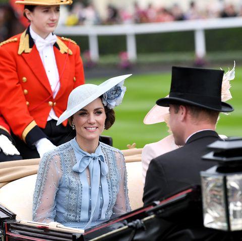 Kate Middleton wearing Ellie Saab at Royal Ascot 2019