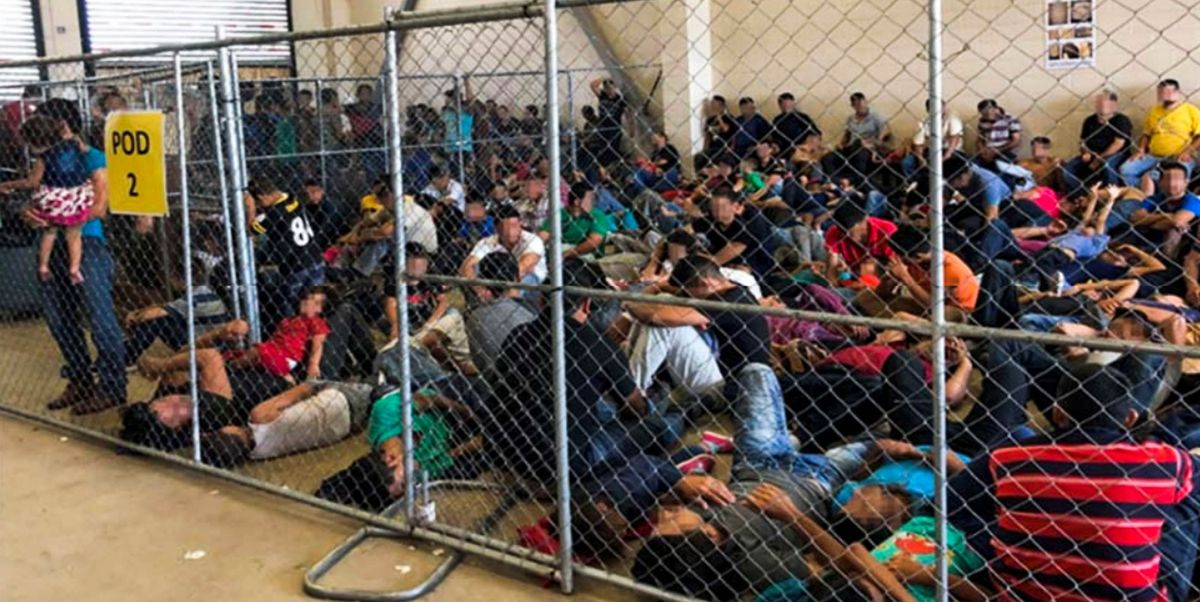 Once Upon a Time, These Photos Would Have Sent the Whole Country Aflame: The government is holding thousands of immigrants in