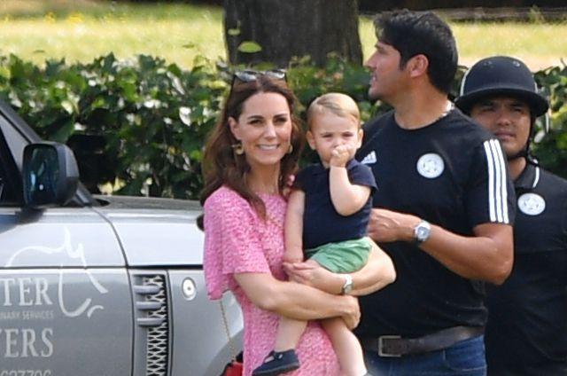 Kate Middleton Wears Pink L K Bennett Dress to Polo Match