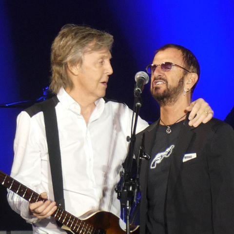 ポール・マッカートニーのツアーに、元ビートルズのリンゴ・スターが登場!
