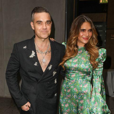 Robbie Williams and Ayda Field celebrate son Charlies birthday