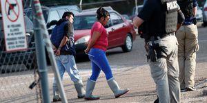 Immigration Food Plant Raids, Morton, USA - 07 Aug 2019