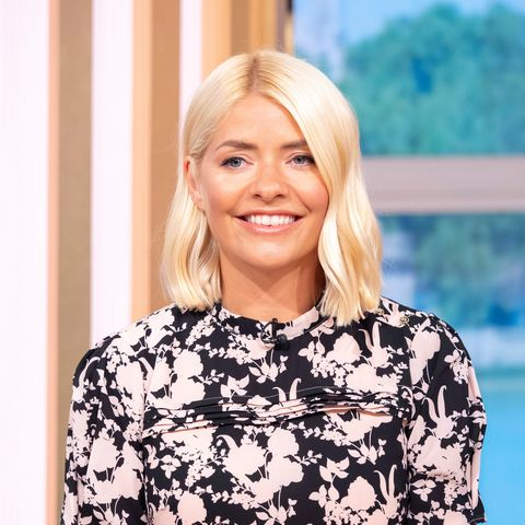 HollyWilloughby on This Morning