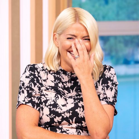 Holly Willoughby onThis Morning