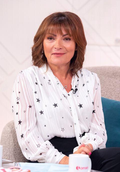 Lorraine Kelly on ITV today.