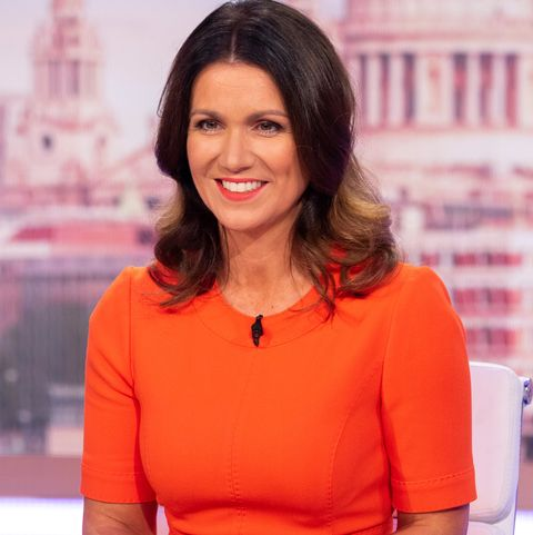 Susanna Reid stuns in bright orange LK Bennett dress