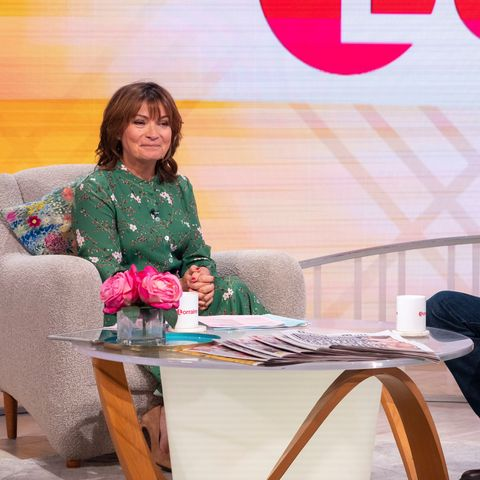 Lorraine's shirt dress is perfect for chic daytime dressing