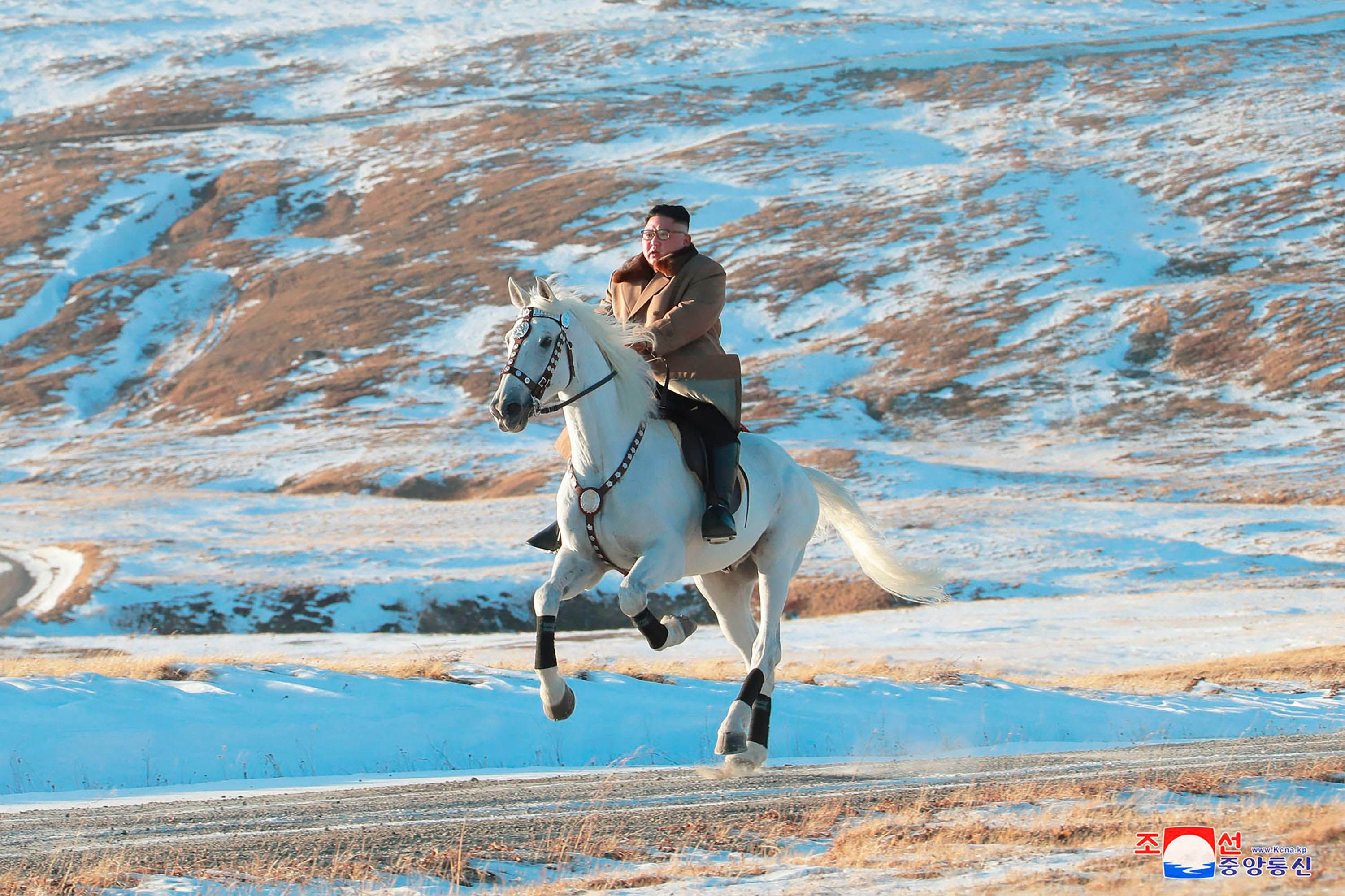 The Best Twitter Reactions to Kim Jon-un's Majestic Horse Ride Through the North Korean Forest