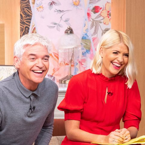 Holly Willoughby perfect knitted dress