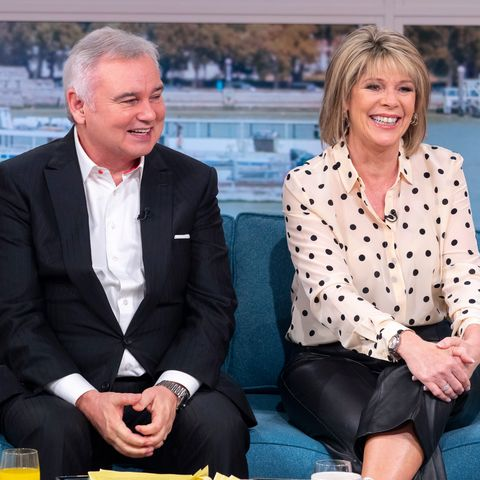 Ruth Langsford leather trousers