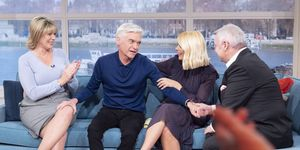 Phillip Schofield supported by Holly and Ruth as he comes out as gay