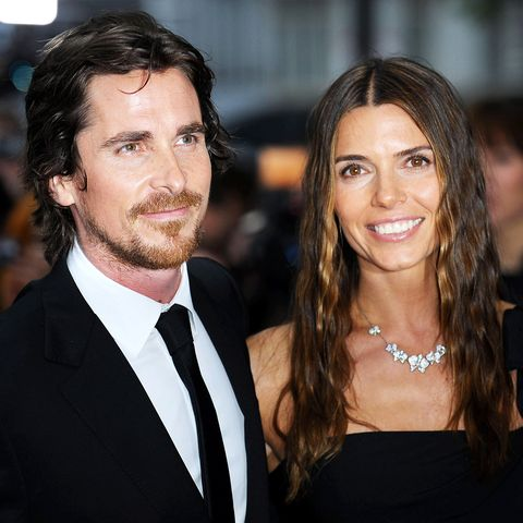 Christian Bale with sexy, Wife Sibi Blazic
