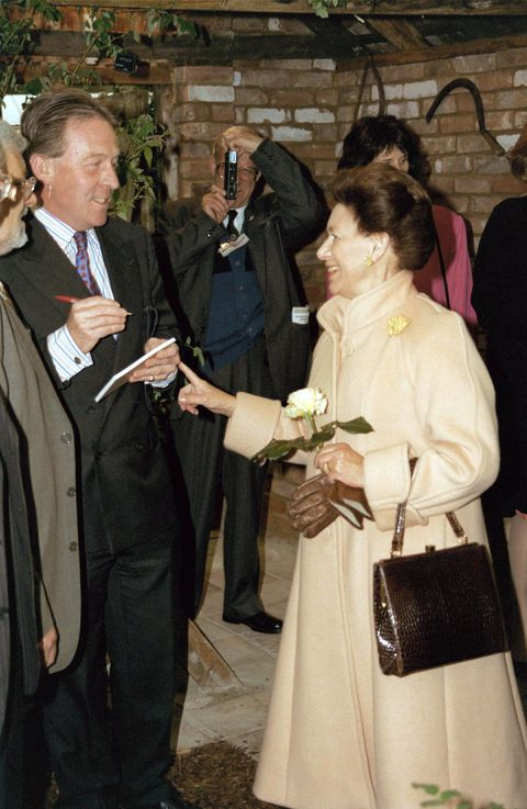 Princess Margaret Roddy Llewellyn S Relationship Details And