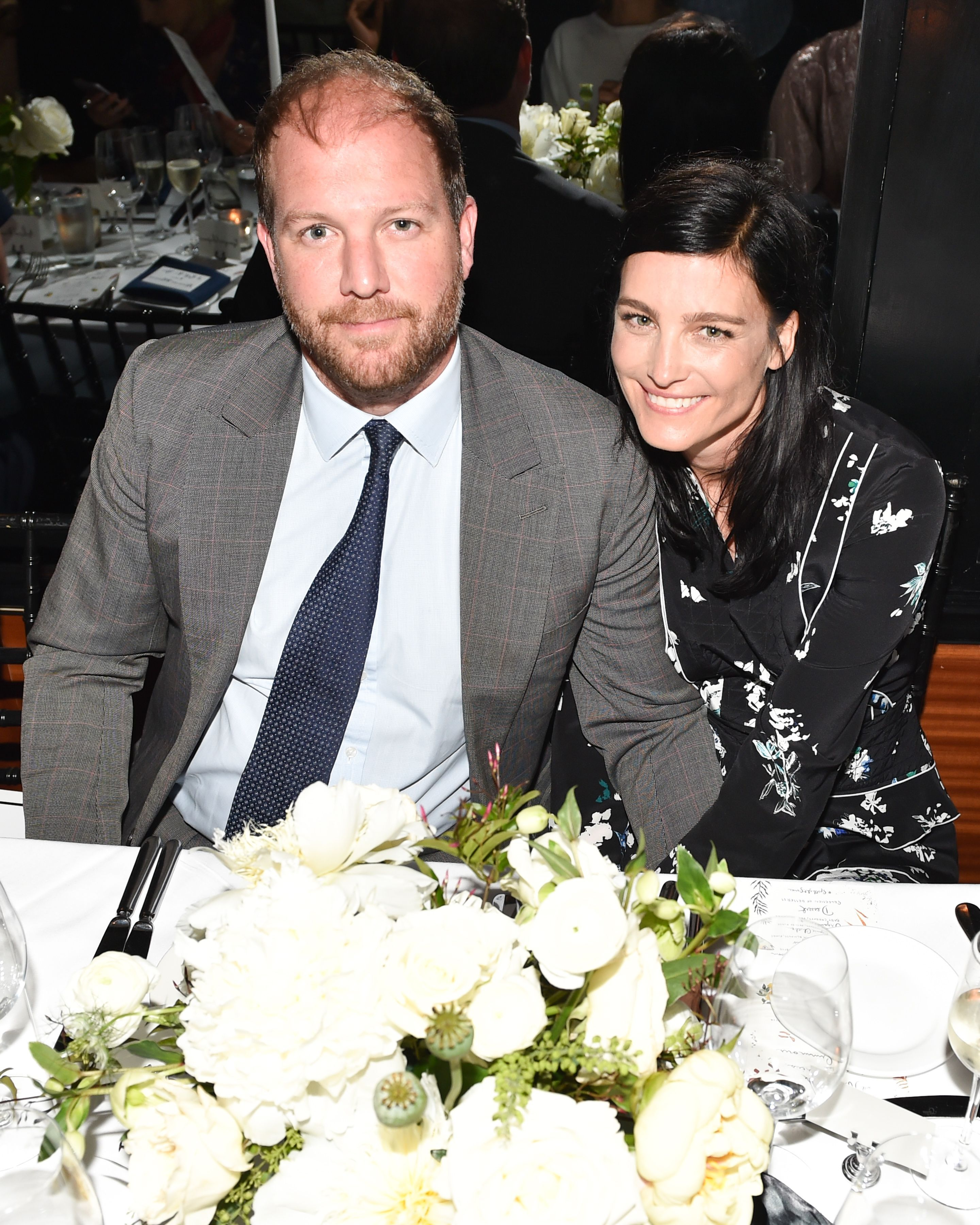 Topper Mortimer married shoe designer Tabitha Simmons in a star-studded yet understated wedding on New York City's Upper East Side in June. The couple had welcomed daughter, Violet Elizabeth , in January and have been together since 2014.