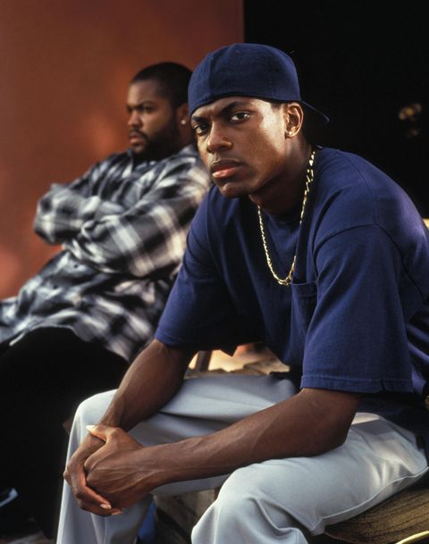 editorial use only no book cover usage mandatory credit photo by nicola goodenew linekobalshutterstock 5875693d ice cube, chris tucker friday   1995 director f gary gray new line usa scene still