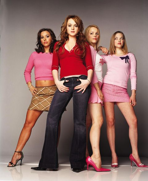 Fashion model, Clothing, Fashion, Social group, Pink, Beauty, Leg, Fashion design, Fun, Waist,