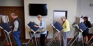 Election Mississippi, Madison, USA