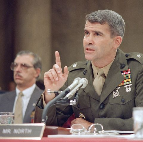 During Iran-Contra, Republicans managed to turn Oliver North into a national hero.