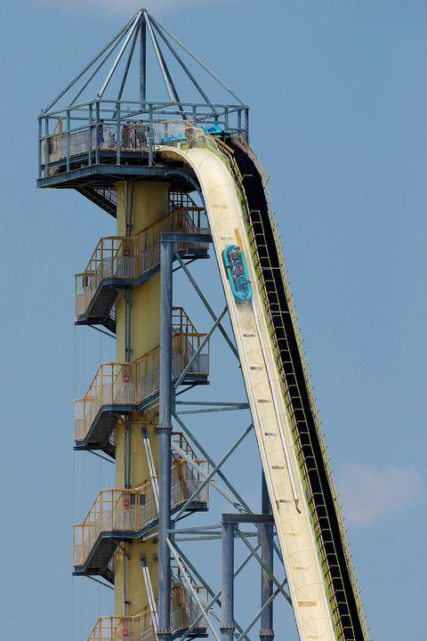 Worlds Tallest Waterslide, Kansas City, USA