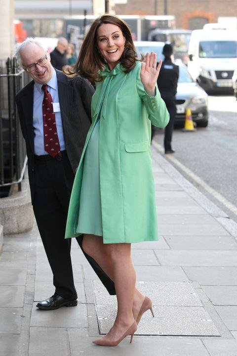 Kate Middleton\'s Mint Maternity Look - Kate Middleton Wore Custom ...