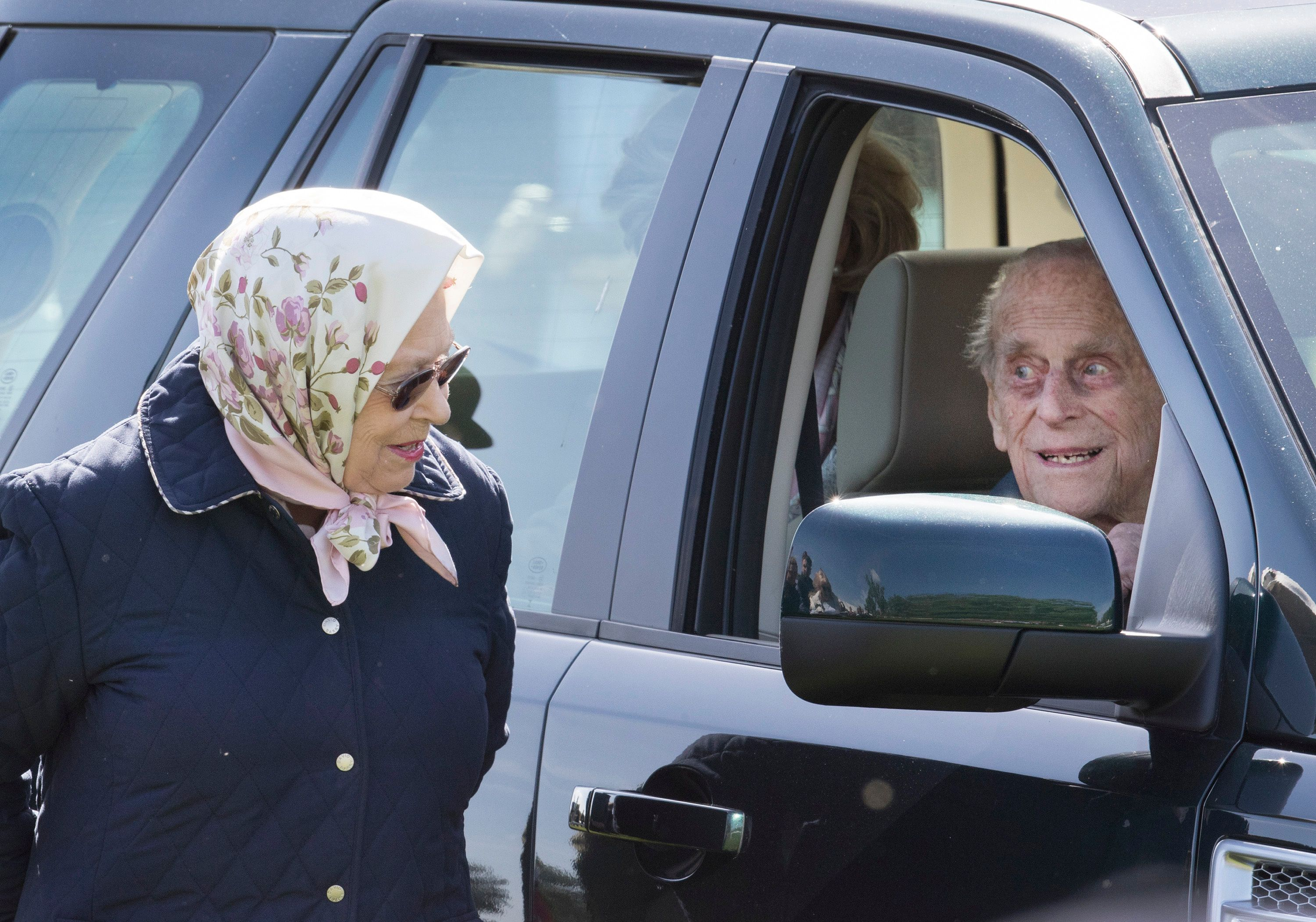 Prince Philip Makes First Public Appearance Since Hip