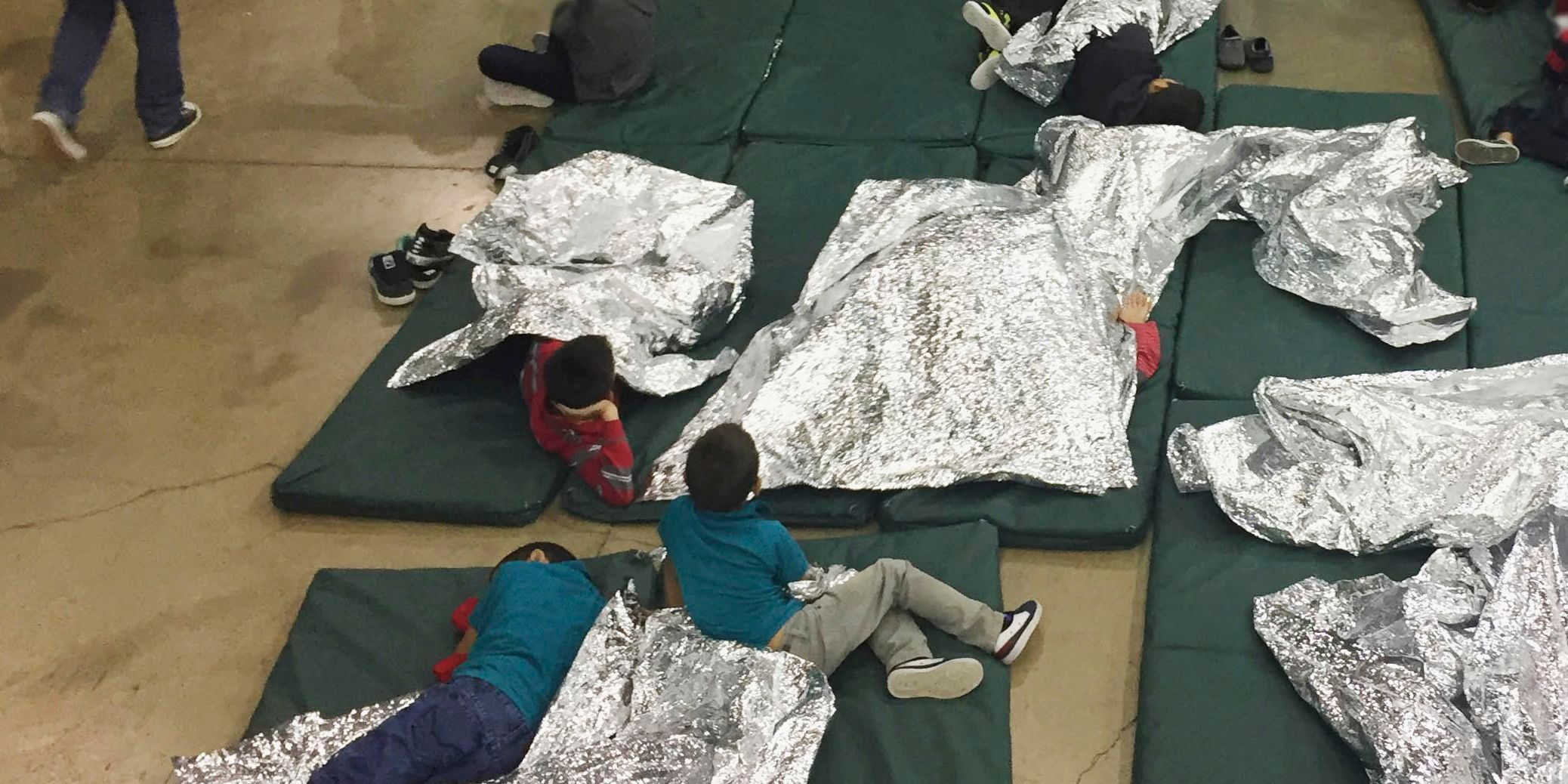 Immigration facility in McAllen, Texas