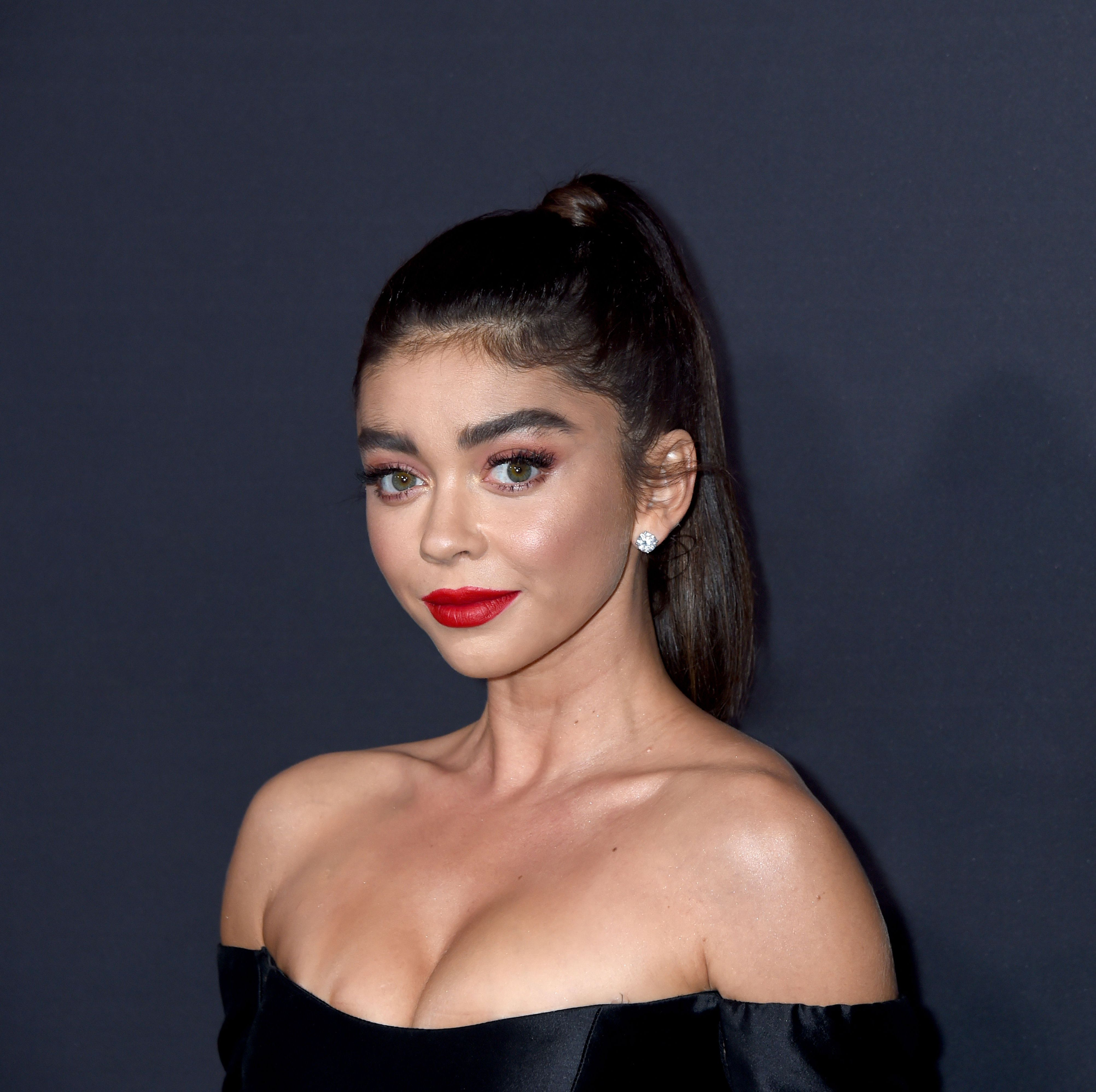 Sarah Hyland Got a Shaggy Lob and Looks Totally Different