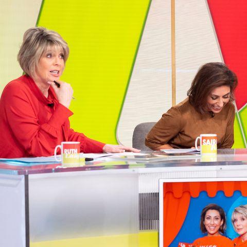 'Loose Women' TV show, London, UK - 20 Nov 2018