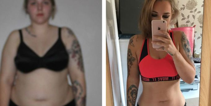 Sian Ryan Instagram weight loss before and after