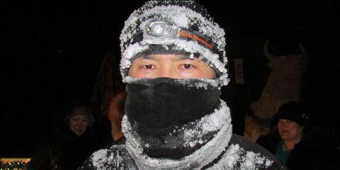 Siberian marathoner Boriss Fyodorov