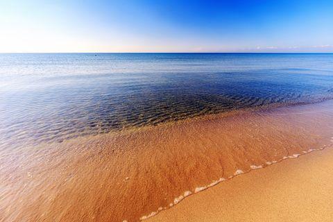 Coast of Sicily near Mazara, Italy in November