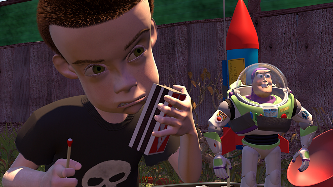 Actor Will Poulter Dressed Up As Sid From Toy Story For An Amazing