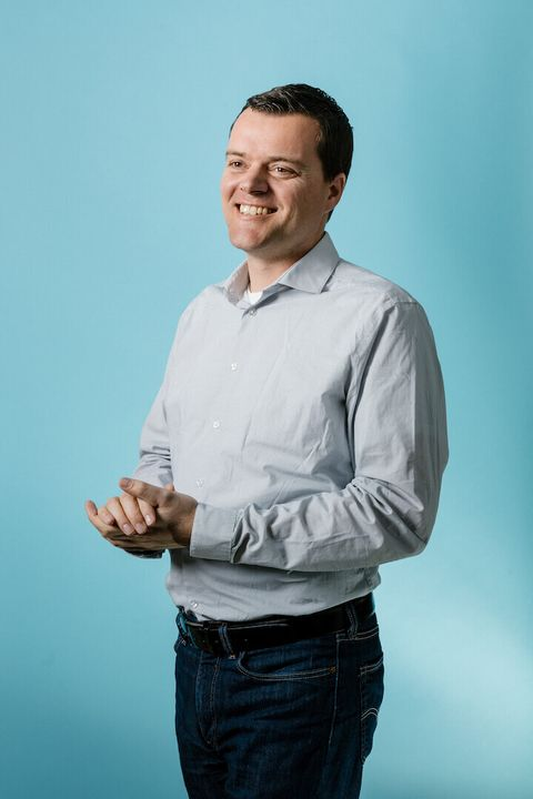 blue, chin, standing, arm, white collar worker, smile, businessperson, gesture, dress shirt, photography,